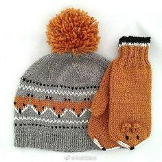 Ravelry: Gurimalla's Fox beanie knitting for beginners knitting ideas knitting patterns knitting projects knitting sweater Kids Knitting Patterns, Knitting For Kids, Knitting Designs, Free Knitting, Knitting Projects, Baby Knitting, Crochet Projects, Crochet Patterns, Knitting Ideas
