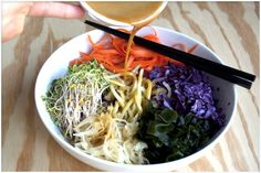 A Raw Macro Bowl And My Knock off Dragon Sauce By GreenChef Callie England  http://gliving.com/a-raw-macro-bowl-and-my-knock-off-dragon-sauce-by-greenchef-callie-england/#