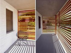 DIY: Slat Railing Projects via Kitka and the Brick House : Remodelista