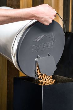 The final new Traeger toy seals the deal — of taking your grill off-road. Our Pellet Storage Lid & Filter Kit makes switching hardwood flavors, storage, and traveling with your meat machine more convenient. The lid fits any standard 5-gallon bucket, has an airtight seal to keep pellets fresh and dry year-round, and makes fueling your fire simple with an easy-pour spout. The filter separates dust from the pellets to keep your grill cleaner. You asked for it, now its here, so grab a few…