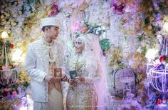 Marriage book of wedding indonesia