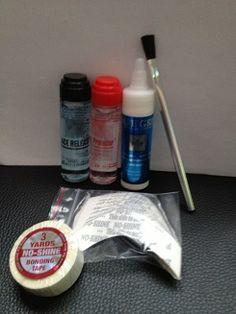 Kit de colle et de soin pour full lace wig et complément capillaire.
