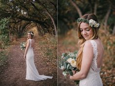 forest wedding, blue bridesmaid dresses_0093
