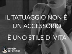 Il tatuaggio non è un accessorio, è uno stile di vita #tattoo #tatuaggio #tattoomeme