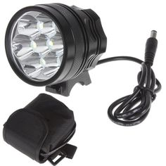 Special Offers - SecurityIng Waterproof 2800 Lumens 7X T6 Super Bright LED Bicycle Torch Light with 8000mAh Battery Pack & Charger - In stock & Free Shipping. You can save more money! Check It (May 20 2016 at 01:57AM) >> http://flashlightusa.net/securitying-waterproof-2800-lumens-7x-t6-super-bright-led-bicycle-torch-light-with-8000mah-battery-pack-charger/