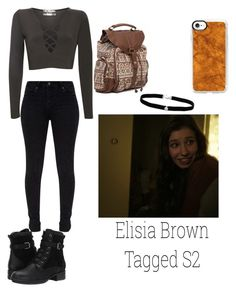 """""""2.1 // elisia brown tagged s2"""" by xxkmosnapsxx on Polyvore featuring Pilot, Blondo, Billabong, Casetify and Amanda Rose Collection"""