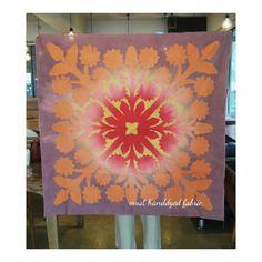 """좋아요 88개, 댓글 7개 - Instagram의 must_handdyed_fabric(@must_hawaiianquilt)님: """"머스트의하와이안퀼트클럽 #must_handdyed_fabric #mustfabric #must_hawaiianquilt #hawaiianquilt #sunflower…"""""""