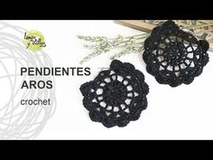 Crochet paso a paso aretes en Ideas Crochet Jewelry Patterns, Crochet Earrings Pattern, Crochet Bracelet, Crochet Accessories, Crochet Designs, Crochet Cross, Thread Crochet, Crochet Stitches, Knit Crochet
