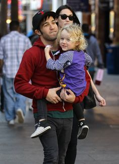 Pete Wentz took care of his son, Bronx, while hanging out in LA in December 2011.  #celebrities #celebrity dads #celebrities' kids