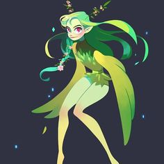 _ Fairy _ #characterdrawing #character #fairy #artwork #drawing #bird #leaf #fairydrawing #illust