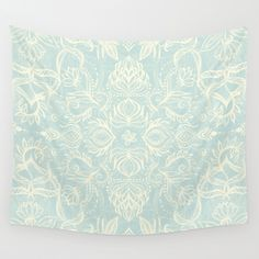 Buy Pale Jade Tattoo - a pattern by micklyn as a high quality Wall Tapestry. Worldwide shipping available at Society6.com. Just one of millions of products available.