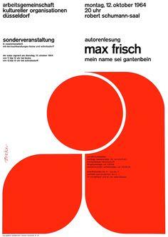 Walter Breker – Autorenlesung Max Frisch, 1964