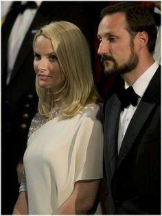 Norwegian Royals:  Crown Prince Haakon and Crown Princess Mette-Marit