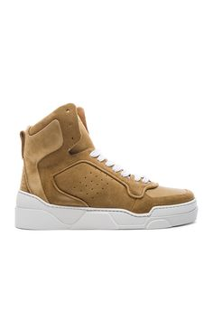 Givenchy Suede Tyson II Sneakers in Beige