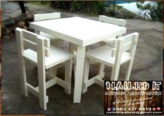 Bar-Style Table and chairs sets. Suitable for indoor and outdoor use. Use them at the braai, in the pub, pool area or even the patio. Affordable, custom built, wooden furniture. Designed by you, built by us. For more info, contact 0834376919 or naileditpallets@gmail.com #barfurniture #outdoorfurniture #patiofurniture #palletbarfurniture #mancavefurniture #pallettableandchairs #nailedpalletfurnituredurban #naileditcustombuiltpalletfurniture #custompalletfurniture #palletfurniture…