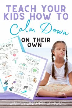 Mindfulness: Emotional Activities for Kids to Calm Down