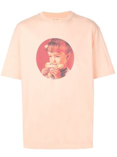 Palace munchy print T-shirt - Orange Streetwear, Sneaker Store, Shops, Peach Orange, Size Clothing, Palace, Women Wear, Short Sleeves, Mens Fashion