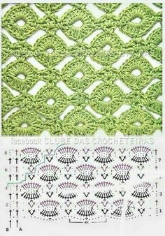 cool crochet stitch chart - for Maggie's scarf wrap - Teresa Restegui…Crochet Patterns Techniques FREE Stitch pattern (Crochet) – Pinned by intheloopcrafts.crochet stich - lion brand honeycomb hat uses this Crochet Stitches w/ diagrams. Crochet Instructions, Crochet Diagram, Crochet Chart, Crochet Motif, Diagram Chart, Crochet Blouse, Crochet Stitches Patterns, Knitting Stitches, Crochet Designs