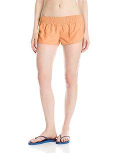 O'Neill Women's Dreamer 2 Inch Boardshorts, Grapefruit, Small