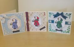 A collection of cards made today