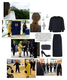 Amelia accompanies her grandparents to officially open the new headquarters of the Metropolitan Police at New Scotland Yard by ameliaofunitedkingdom on Polyvore featuring polyvore fashion style Zac Posen Jimmy Choo Anya Hindmarch Cartier clothing