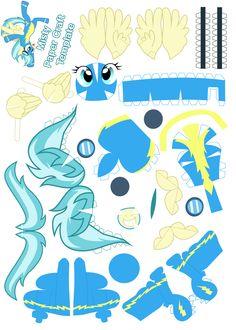 Misty Papercraft Template by dragonmast81.deviantart.com on @deviantART
