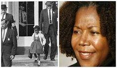Vida real: A primeira criança negra a ir para a escola, com o fim da política de segregação racial nos EUA, em Nova Orleans, em 1960. Seu primeiro dia de aula foi marcado por xingamentos, medo, racismo. A escola, pasmem, estava vazia, pois os pais não deixaram seus filhos frequentarem o ano escolar com a presença de Ruby. Também não havia professores, apenas um educador quis dar aula para Ruby. Seus pais foram severamente ameaçados. E, durante meses, ela teve que ir ...