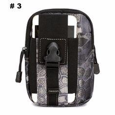Men Tactical Waist Arm or Leg Bags D30 - FREE SHIPPING!!!