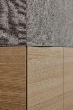 """thedesignwalker:  """"contekst interieurarchitecten / belgische blauwe hardsteen en hout  """""""