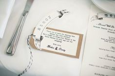 Place Tag | French Country Bridal Shower | We Create & Co. | Brookelyn Photography
