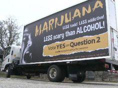 Marijuana legalization proponents take message to the streets  http://www.wcsh6.com/story/news/local/lewiston-auburn/2014/10/28/mobile-marijuana/18075169/ …  #medicalmarijuana #cannais