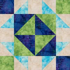 Broken Dishes Quilt Block Pattern. Gotta do this one in honor of MaMa!  LOL