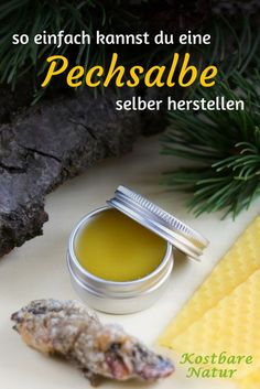 Pechsalbe - universal remedy for many ailments- Pechsalbe – Universelles Heilmittel bei vielen Beschwerden Use the resin of the spruce to make an old remedy for wounds and muscle pain: the pitch ointment! Health And Wellness, Health Tips, Health Fitness, Fitness Tips, Natural Medicine, Herbal Medicine, Home Remedies, Natural Remedies, Muscle Pain