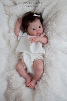 Akina by Adrie Stoete - Pre-Order - Online Store - City of Reborn Angels Supplier of Reborn Doll Kits and Supplies