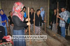 Paket gathering kantor di Desa Kemiren