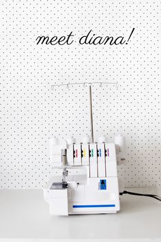 Hello, Diana! Baby Lock Diana Serger Review - see kate sew