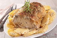 Receita de Lagarto de panela Mashed Potatoes, Ale, Food Porn, Pork, Turkey, Low Carb, Dishes, Meat, Chicken