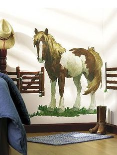 Triple Crown Horse Themed Bedroom