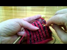 Fixing Mistakes in two color brioche knitting