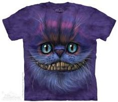 The Mountain Kids Cat T-shirt | Big Face Cheshire Cat