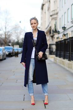 The Best Street Style Looks From London Fashion Week | Grazia Fashion @gtl_clothing #getthelook http://gtl.clothing