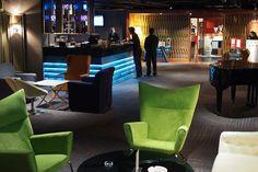 Beautifully designed lounge bar at Ramada Plaza Dua Sentral.....