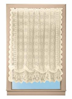Lace Balloons, Balloon Curtains, Valance Curtains, Window Treatments, Modern Farmhouse, Ivory, Gifts, Color, Amazon