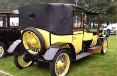 1910 Lanchester 28 hp Landaulette