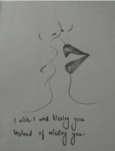 Kissing is how you breathed life into me. Love Drawings For Her, Pencil Drawings Of Flowers, Sketches Of Love, Cute Couple Drawings, Art Drawings Sketches Simple, Pencil Art Drawings, Colorful Drawings, Easy People Drawings, Easy Doodles Drawings