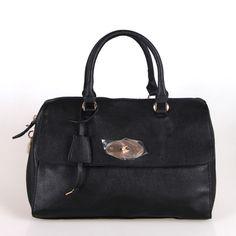 Fabulous Korean High Capicity Tote Bag Black