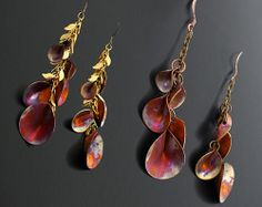 Bead&Button Show: Bead&Button Show Workshops & Classes: Saturday May 31, 2014: B141202 Copper Lilies