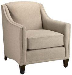 Custom Rockford Armchair - Arm Chairs - Living Room Furniture - Furniture | HomeDecorators.com