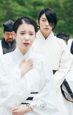 Prince Wang so and Hae soo ❤ Iu Moon Lovers, Moon Lovers Drama, Lee Jun Ki, Lee Joongi, Scarlet Heart Ryeo Wallpaper, Kdrama, Hong Jong Hyun, Moorim School, Wang So