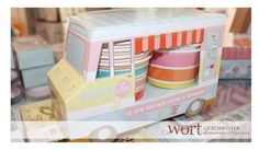 Ice Cream Truck ;) Decorative Boxes, Ice Cream, Trucks, Paper, Siblings, Products, No Churn Ice Cream, Icecream Craft, Truck